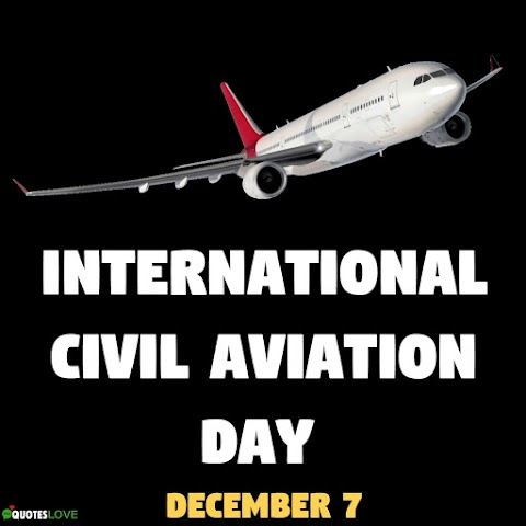International Civil Aviation Day 2020 Images, Poster, Pictures, Photos, Wallpaper