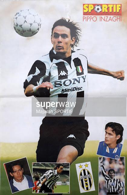 PIPPO INZAGHI JUVENTUS 1997