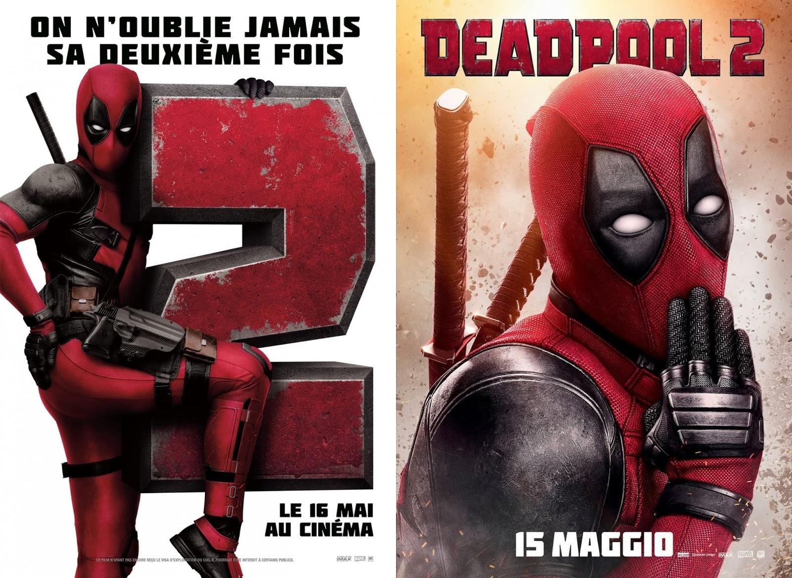 The Blot Says Deadpool 2 International Movie Posters
