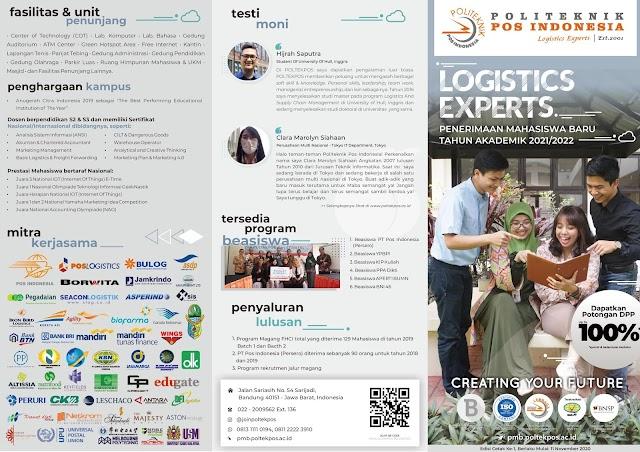 Penerimaan Mahasiswa Baru TA 2021/2022 - Politeknik Pos Indonesia