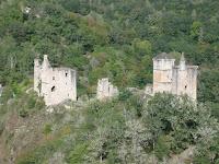 ruines tours de merle