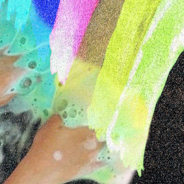 Make sidewalk art that fizzles and POPS with this easy chalk recipe for kids. #fizzychalkpaint #fizzychalk #poprocks #poprocksscienceexperiment  #poprocksrecipe #poprockscandy #fizzypaint #chalkpaint #chalkpaintrecipe #growingajeweledrose
