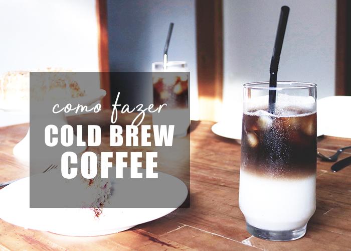como fazer café gelado