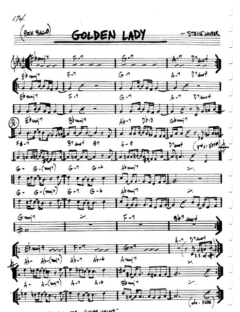 Partitura Armónica Stevie Wonder
