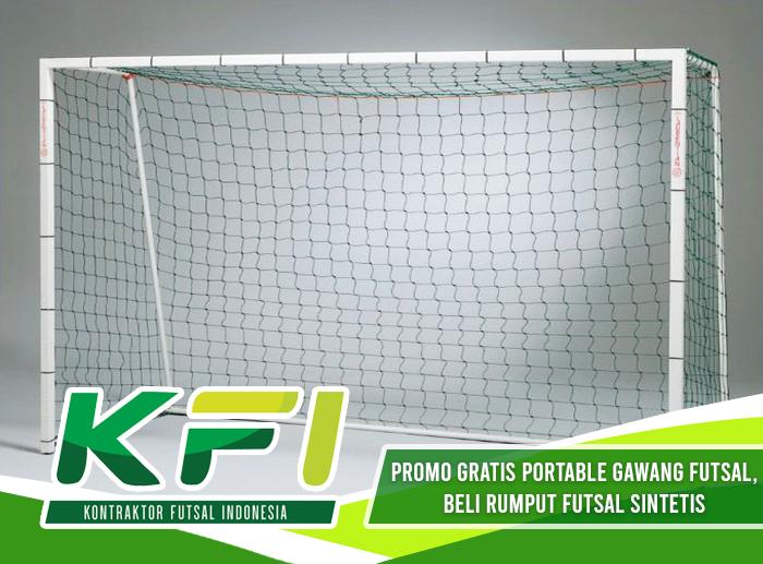Promo Gratis Portable Gawang Futsal