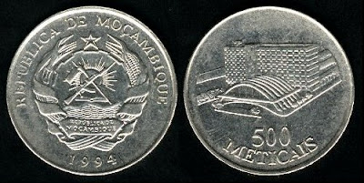 Mozambique 500 Meticais (1994)