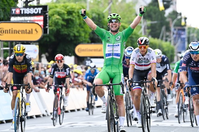 Mark Cavendish está a duas vitórias de igualar recorde de Eddy Merckx