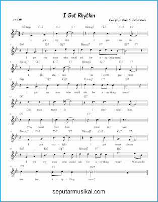 i got rhythm lagu jazz standar