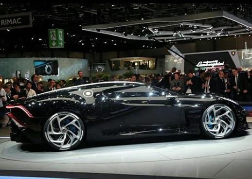 Bugatti La Voiture Noire di Geneva Motor Show