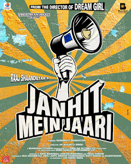 Bhanushali Studios Limited,Raaj Shandilyaa,Nushrratt Bharuccha,pyar ka punchnama,Janhit Mein Jaari,Anud Dhaka,Annu Kapoor,Paritosh Tripathi,Chanderi,bollywood upcoming movie,entertainment news,Juhi Parekh Mehta media kesari मीडिया केसरी