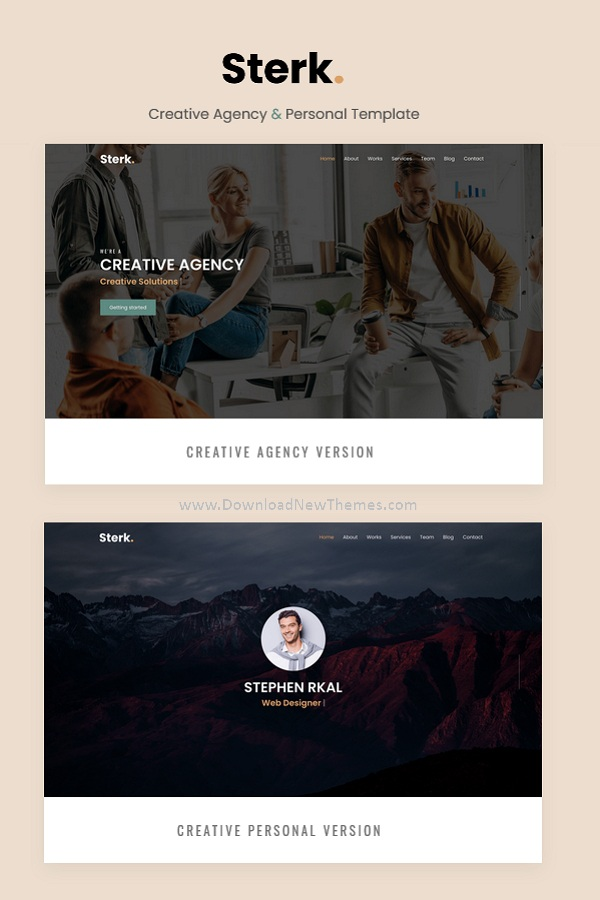 Creative Agency & Personal Template
