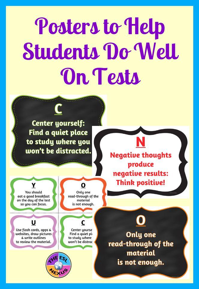 https://www.teacherspayteachers.com/Product/Test-Preparation-Posters-Task-Cards-Checklist-3716797