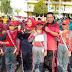Sambut HUT RI ke 74, Pemkab Lampura Gelar Lomba Gerak Jalan Antar  Sekolah
