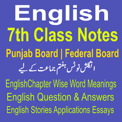 File:Solved Seventh Class Notes English and English Grammar for Punjab Board and Federal Board.svg