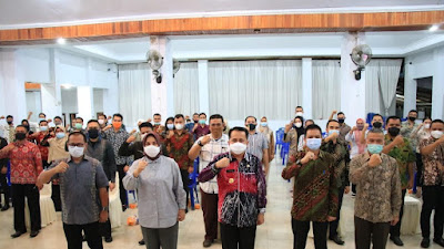 Fatoni Beri Motivasi Purna Praja Se-Bolmong Raya