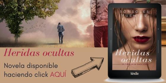 novela Heridas ocultas, un thriller intimista de Sonsoles Fuentes disponible en Amazon