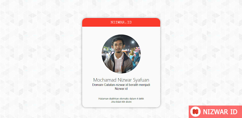 Pengalihan Web Catatan-Nizwar ID - Nizwar ID