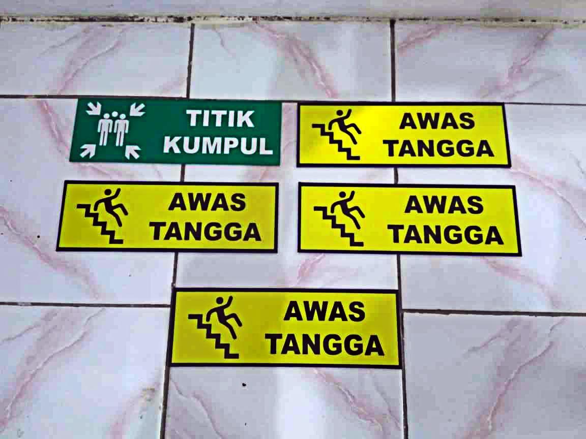 Jual Rambu Rambu K3 Semarang Reklame Semarang 0818244455