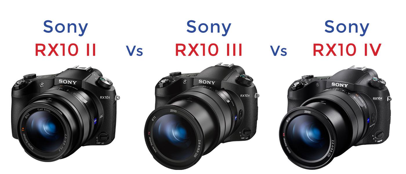 Park Cameras Blog: Sony RX10 IV vs RX10 III vs RX10 II Review