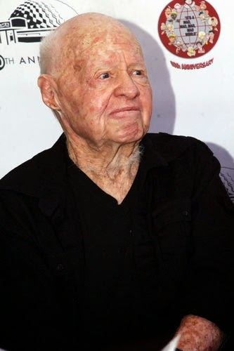 Hollywood legend Mickey Rooney died
