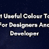Best useful colour tool for web designers and developers.