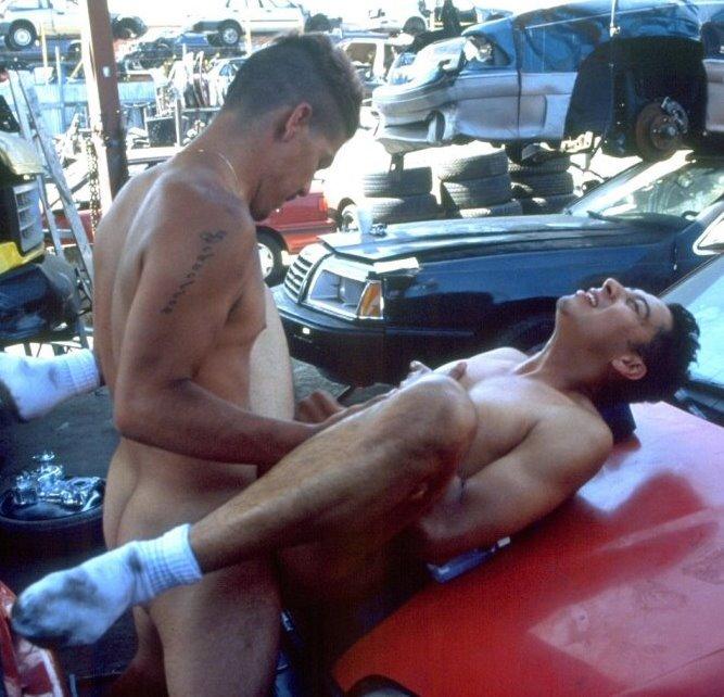 follando rico con el mecánico caliente