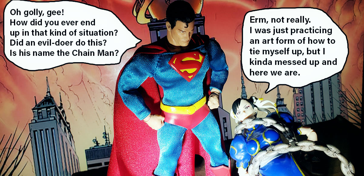 superman - Mezco Classic Superman (Review) 12-story5