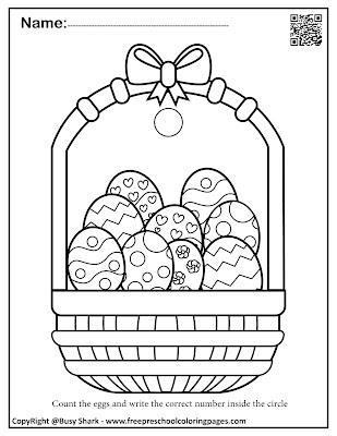 Easter basket folding paper craft