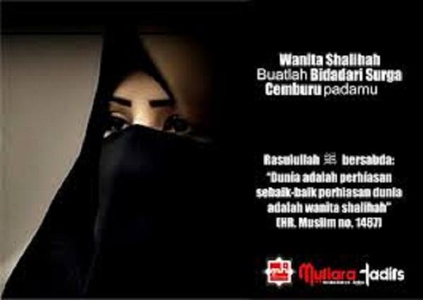 Istri solehah idaman suami dalam islam