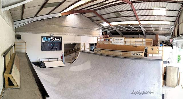 Skatepark Montpellier indoor park