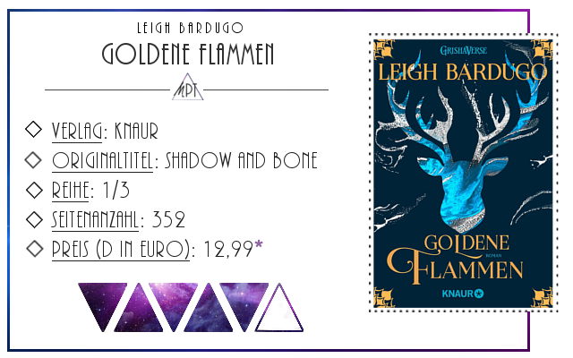 [Rezension] Goldene Flammen - Leigh Bardugo