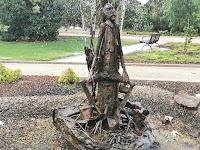 The Jolly Swagman by Aurel Ragmus | Wagga Wagga Public Art
