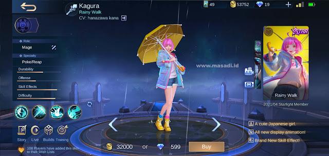Kagura Starlight Skin