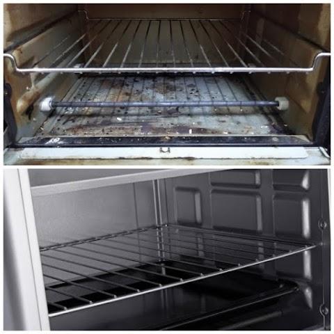 Tips mudah bersihkan oven kotor guna lima bahan sahaja