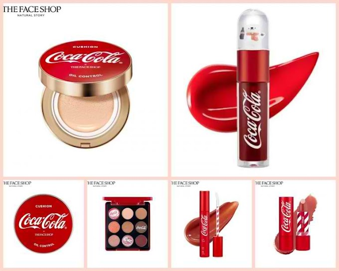 Take A Look At The Face Shop Philippines x Coca Cola Collab