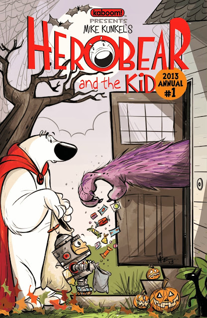 Herobear and the Kid 2013 Annual #1