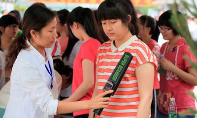 Mau Ujian Remaja Putri China Harus Lepas Bra