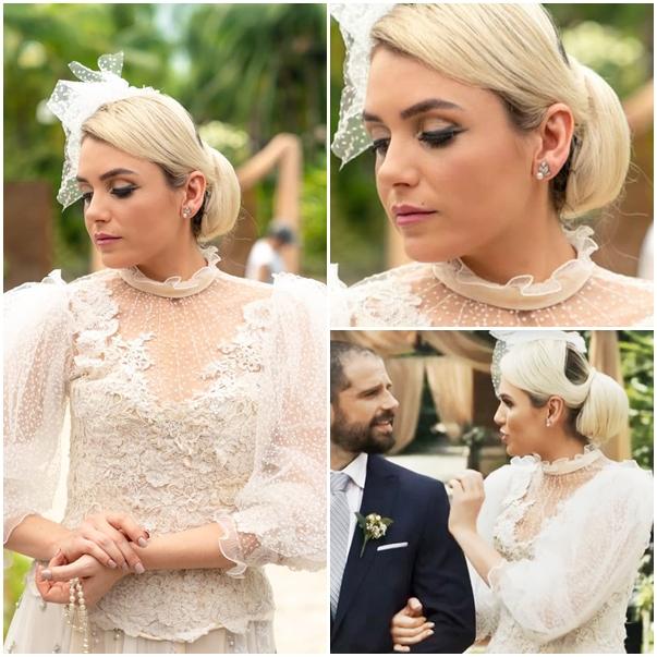 vestido de noiva kim a dona do pedaço