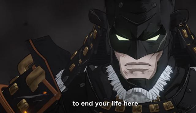 Sale finalmente el tráiler de la película Batman Samurai