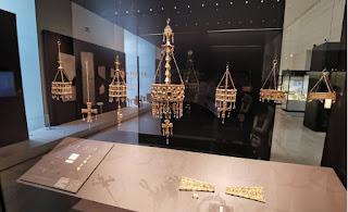 Madrid, Museo Arqueológico Nacional. El Tesoro Visigodo de Guarrazar.