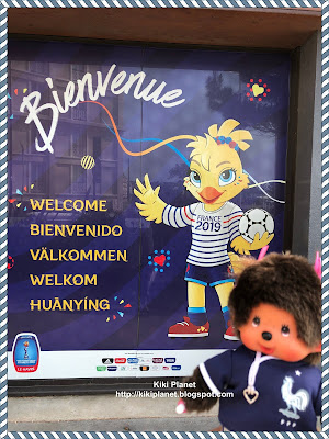 kiki monchhichi ke havre coupe du monde football féminine fifa stade oceane