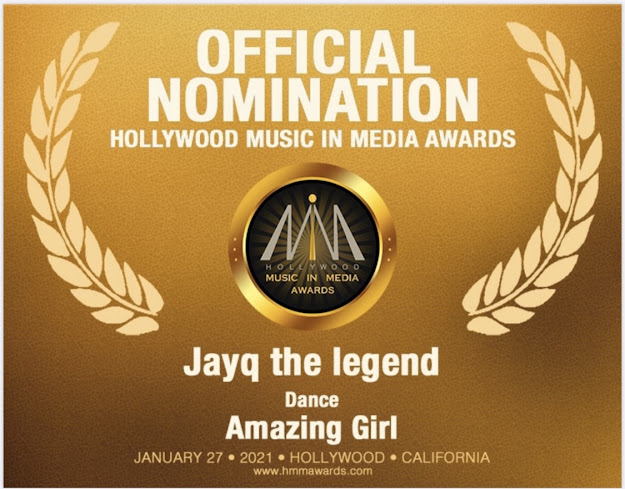 Amazing Girl nominated for HMMA