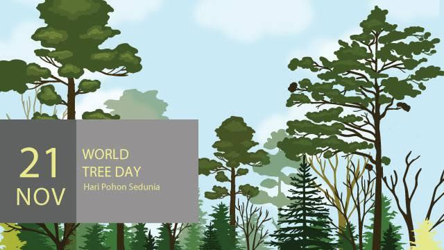 Hari Pohon Sedunia, Rancanumpang Tanam Pohon di Danau Retensi Rancabolang