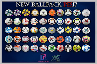 PES 2017 Ballpack 05.09 (50 Balls) by LPE09-JAS