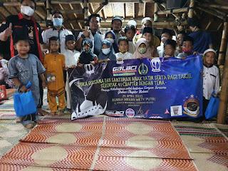 KEGIATAN Buka Bersama serta santunan anak yatim dan bagi takjil serempak 41 chapter se-Indonesia