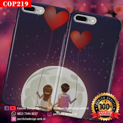 Cara buat casing hp couple goals simple unik dan romantis COP219