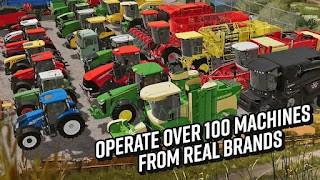 Download Farming Simulator 20 v0.0.0.52 Mod Apk Terbaru (Mod Paid, Vehicles)