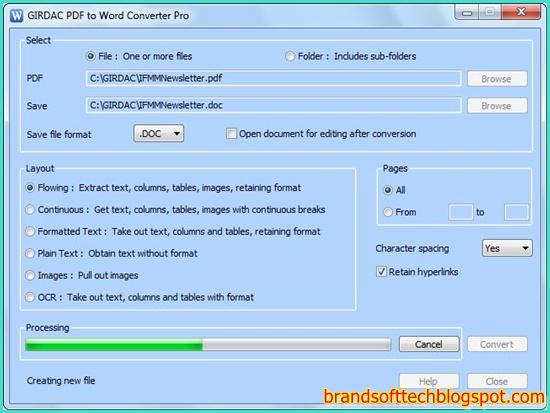 word to pdf converter free