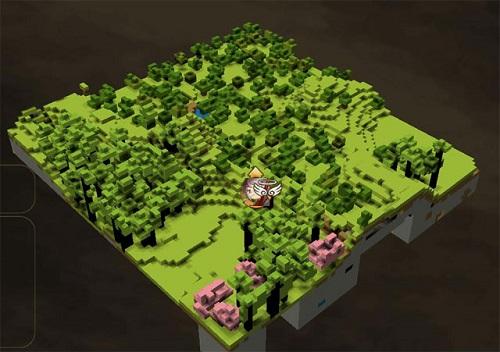 Bản đồ Code cho phép bạn có được những map lạ mắt theo ý muốn