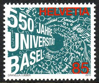 Switzerland University of Basel, 550th anniv. 2010